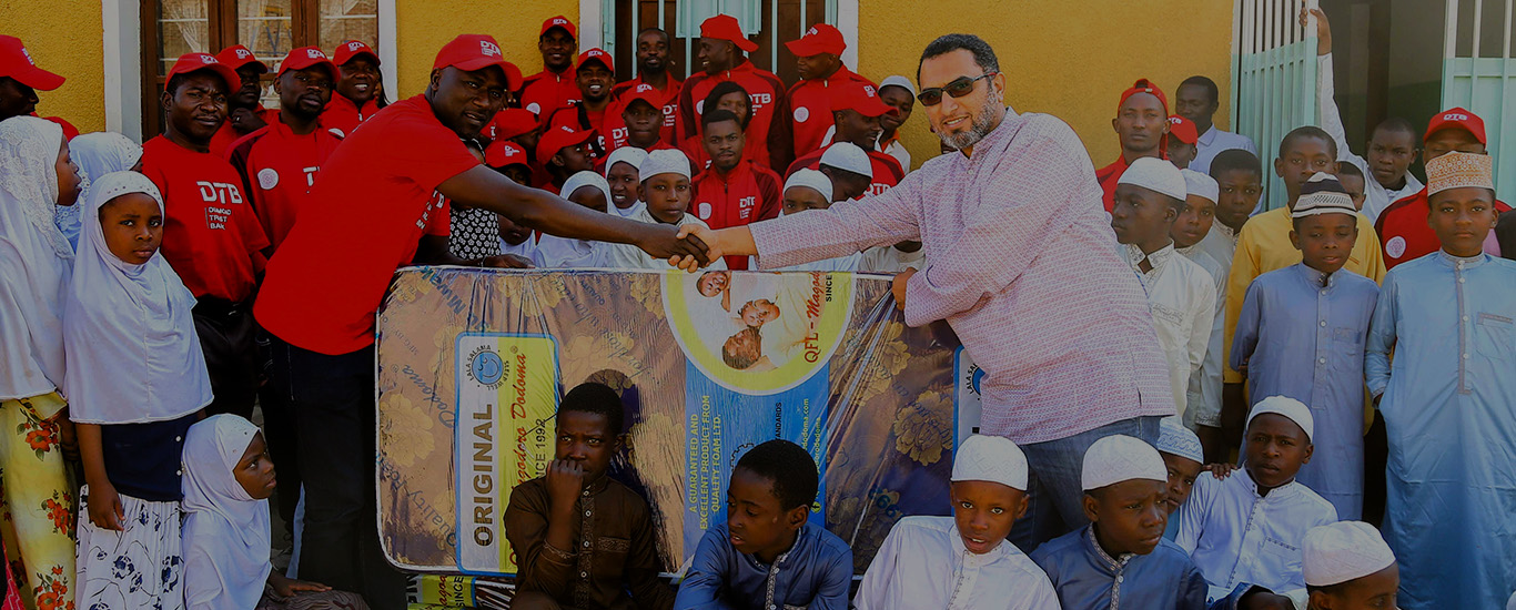 DTB-Tanzania donates mattresses to Dhi Nureyn Orphanage